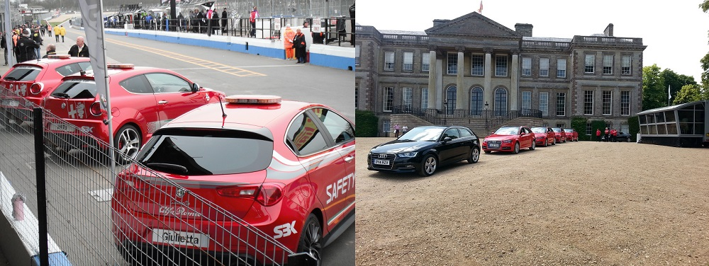 An array of Automotive Events with a Autovaletdirect franchise