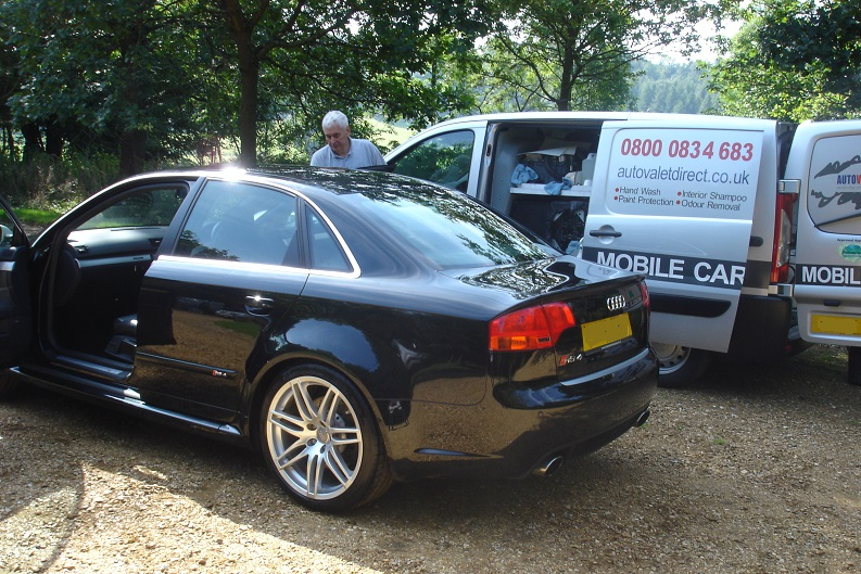 Autovaletdirect franchise at the Audi Quattro Golf Cup Final 2010