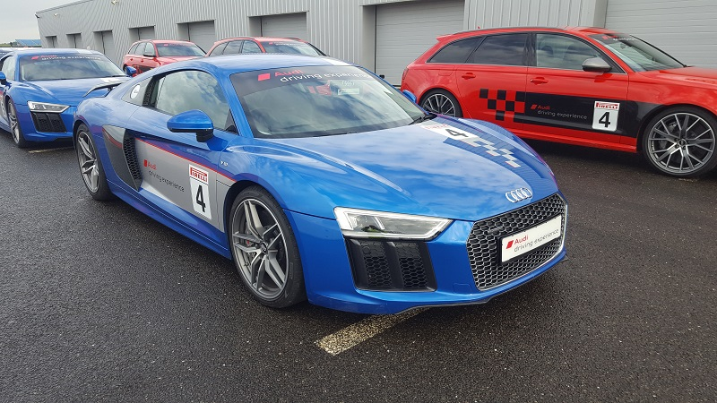 Audi Expo Fleet Event at Silverstone