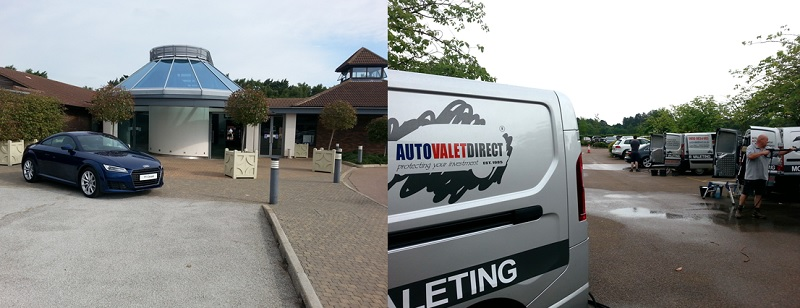 Corporate Valet Services for the Audi Fleet Golf Event at Woburn