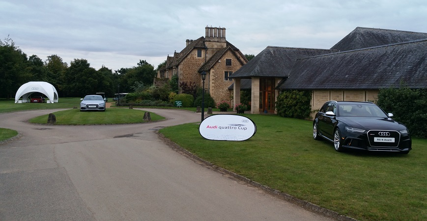 Autovaletdirect return for an eighth year at the Audi Quattro Cup