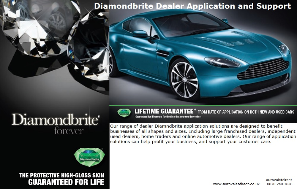 Diamondbrite Dealer Application and Support