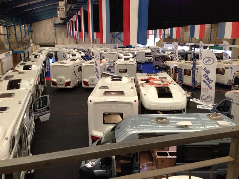 Autovaletdirect franchise attends the Caravan and Boat show 2011