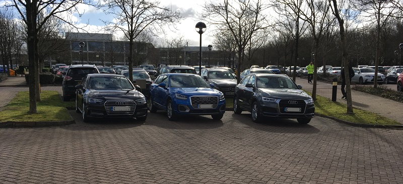 Autovaletdirect deliver event valeting services for Audi at Arval UK