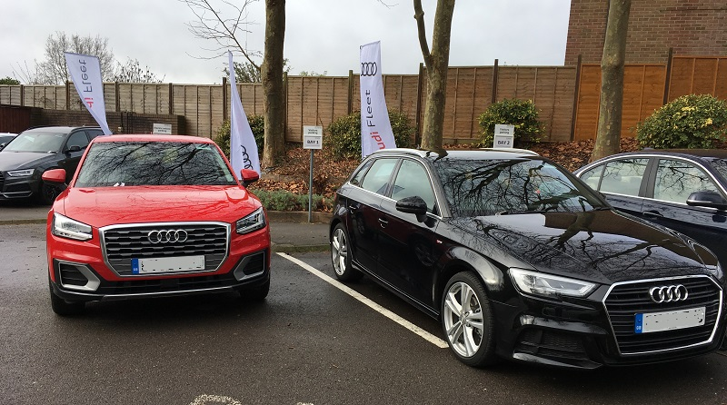 Autovaletdirect deliver event valeting services for Audi at Hitachi Capital
