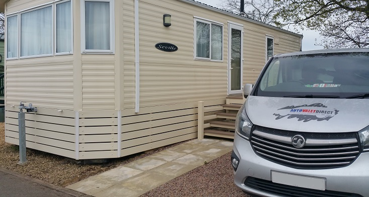 Caravan and Motorhome cleaning and valeting undertaken