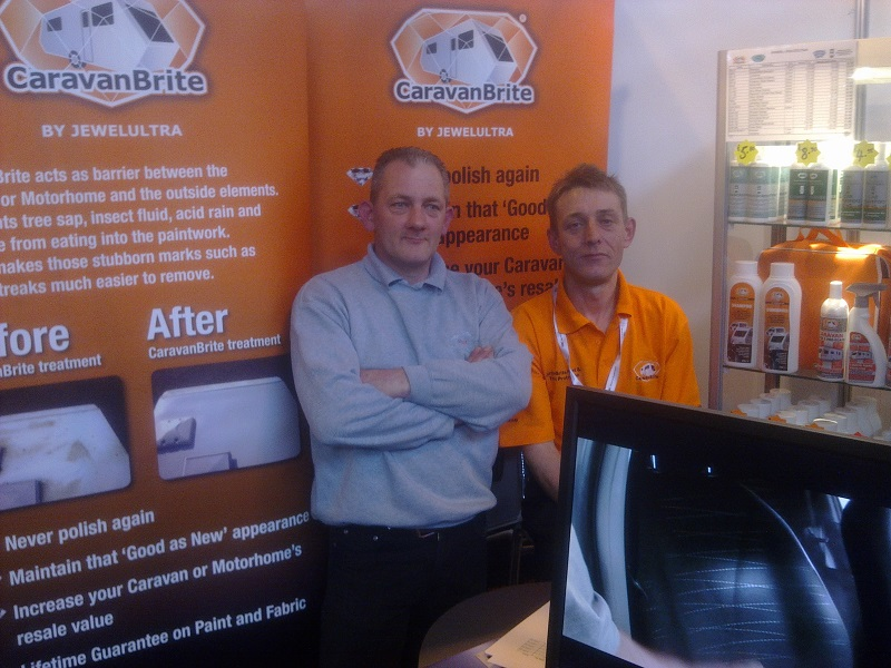 Overwhelming success for Autovaletdirect at the NEC show, Caravanbrite launch