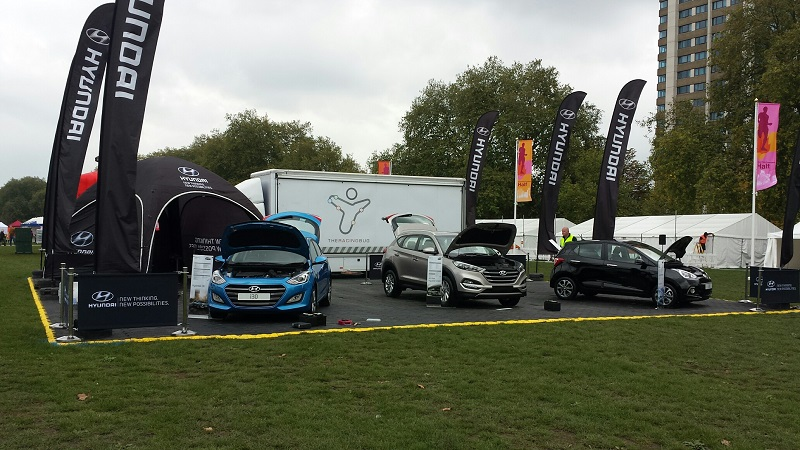 Autovaletdirect with Hyundai at the London Half Marathon