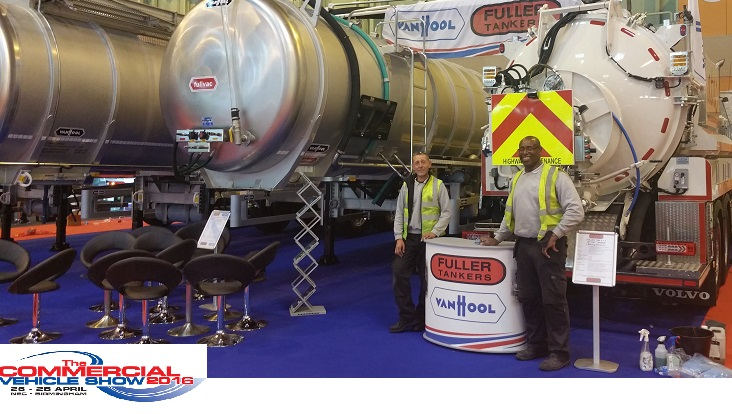 Autovaletdirect deliver event services for the Commercial Vehicle Show