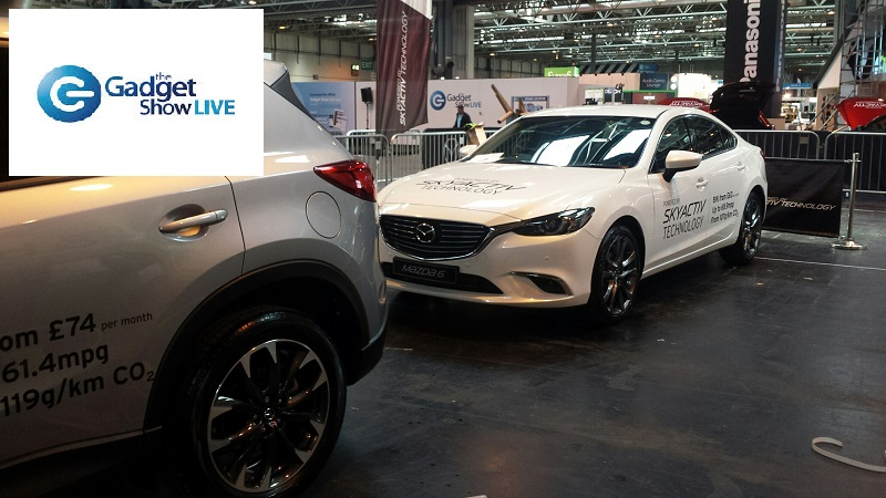 Autovaletdirect at the Gadget Show Live for Mazda