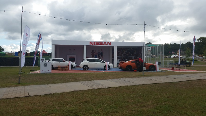 Autovaletdirect back at CarFest North for Nissan