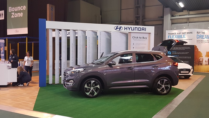 Autovaletdirect back at the Caravan Camping and Motorhome Show 2017