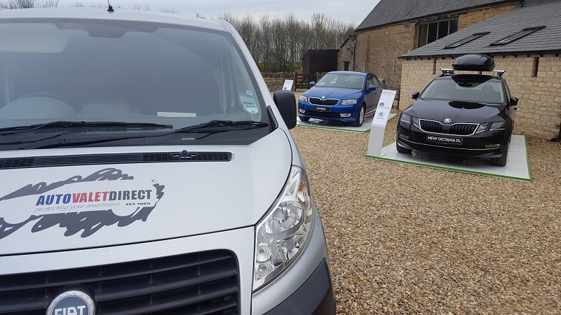 Autovaletdirect clean up for the Skoda Octavia facelift UK launch