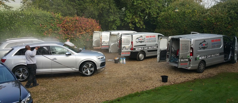 Autovaletdirect franchisees deliver services for three Audi Ride and Drive Events