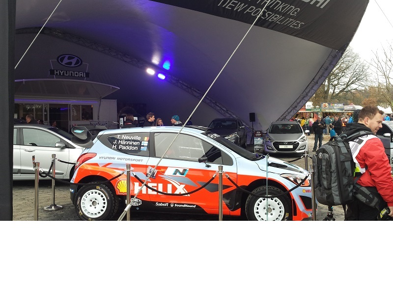 Autovaletdirect at the Wales Rally GB.