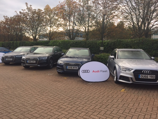 Franchisees deliver services for two Audi Ride and Drive Events
