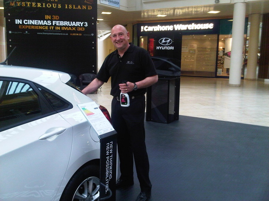 Autovaletdirect franchise attended successful Hyundai event at the Metro Centre in Gateshead