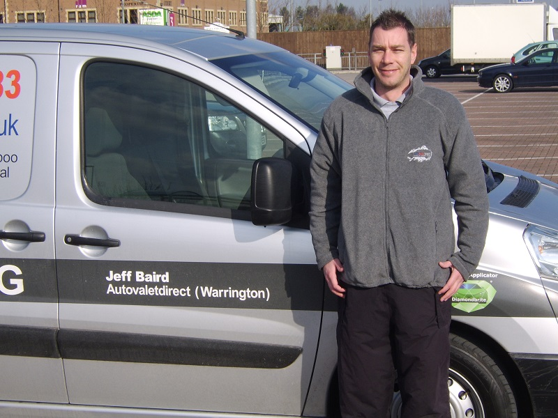 Autovaletdirect franchise awarded to Jeff Baird for Warrington.