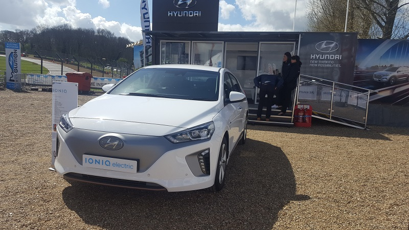 Autovaletdirect franchisees at BTCC Brands Hatch for Hyundai