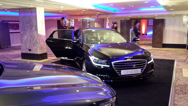 Autovaletdirect and the new Genesis model from Hyundai