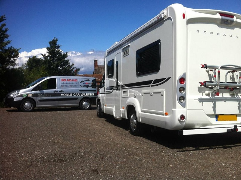 Autovaletdirect has a dedicated service for caravans and motor homes