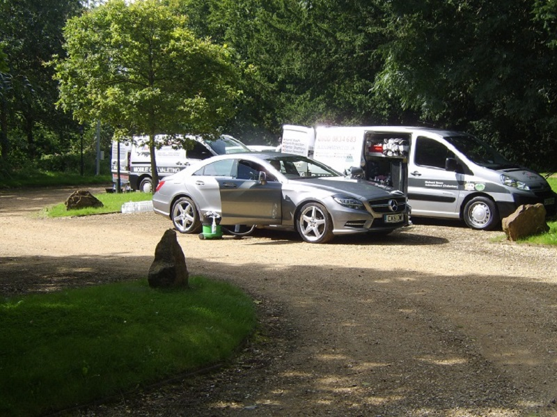 Autovaletdirect offer service at Audi Quattro Cup Final 2012