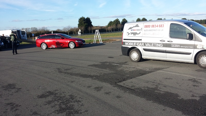 Autovaletdirect offer event services for  Jaguar Land Rover photo shoot