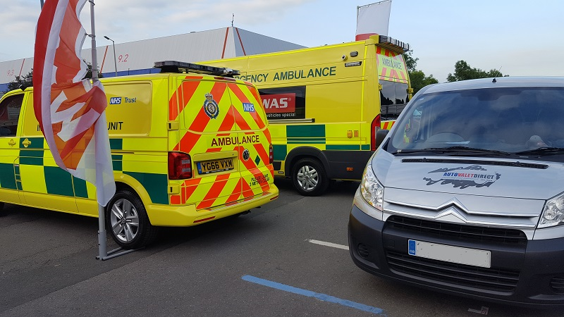 Autovaletdirect valet vehicles for The Emergency Services Show