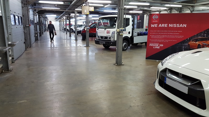 Franchisees deliver services for Nissan Expo at Rockingham