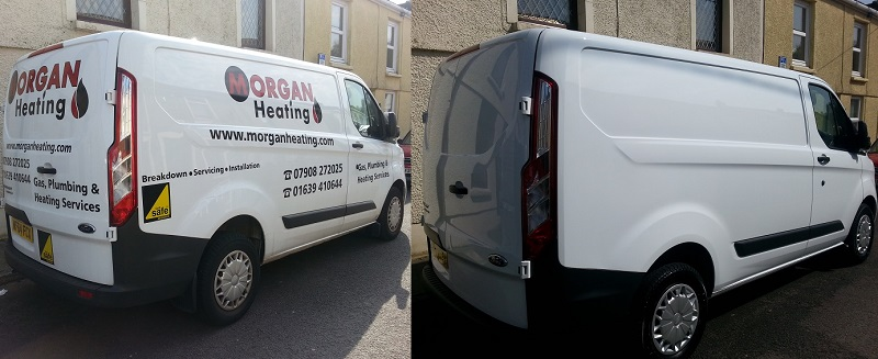 Autovaletdirect Signwriting, Graphics and Decal Removal Services Undertaken