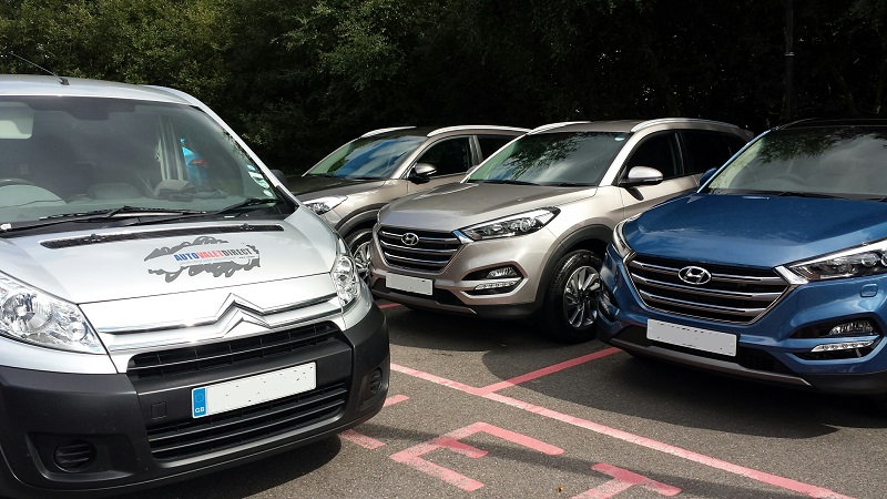 Hyundai arrive and drive in Surrey for new Tucson