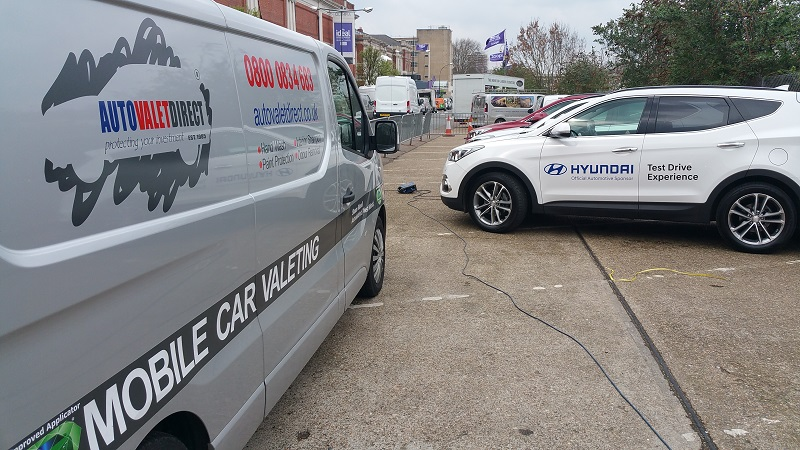 Franchisees deliver Event Valet Services for Hyundai at the Ideal Home Show