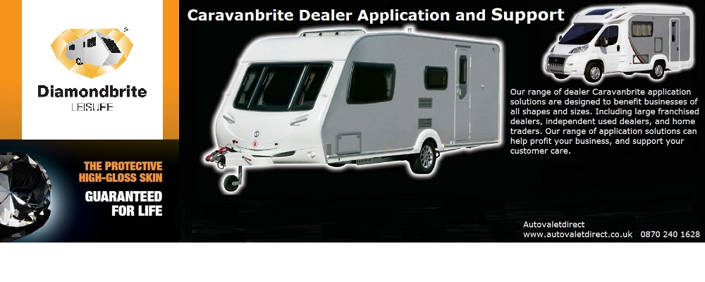 Caravanbrite Dealer Application and Support