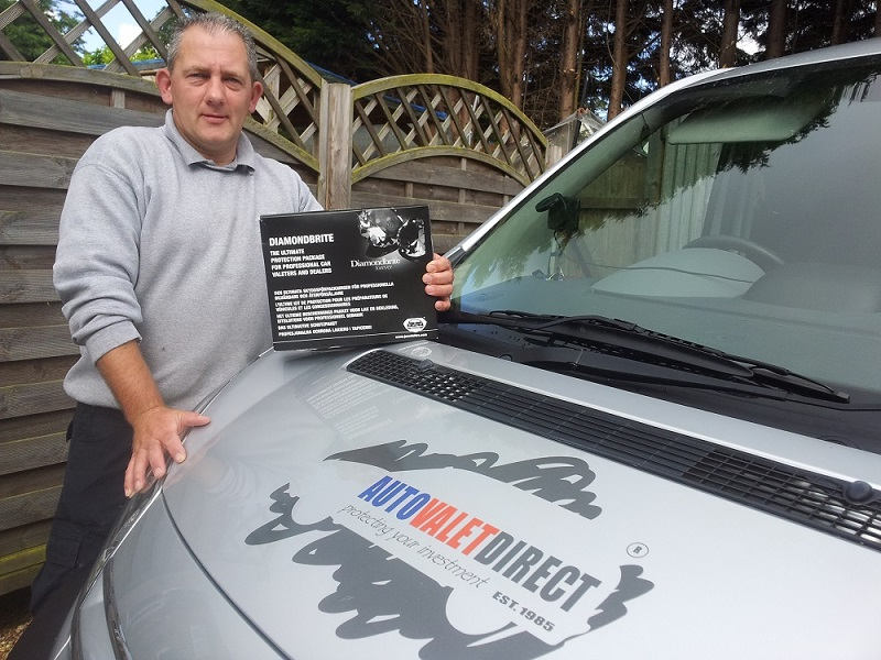 Autovaletdirect franchisee earns one thousand pounds in one day