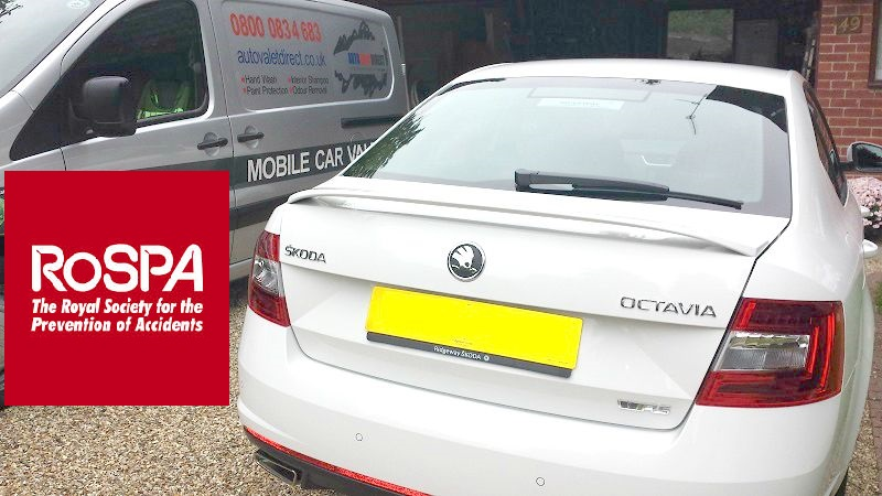 Autovaletdirect franchise team up to offer new service with RoSPA members