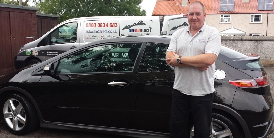 Robert Shaw awarded Autovaletdirect franchise for Scotland