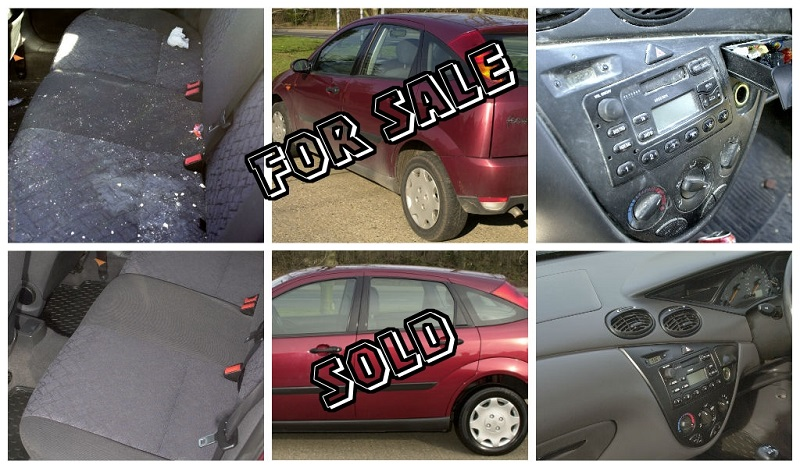 Sell your car today with our used vehicle valet