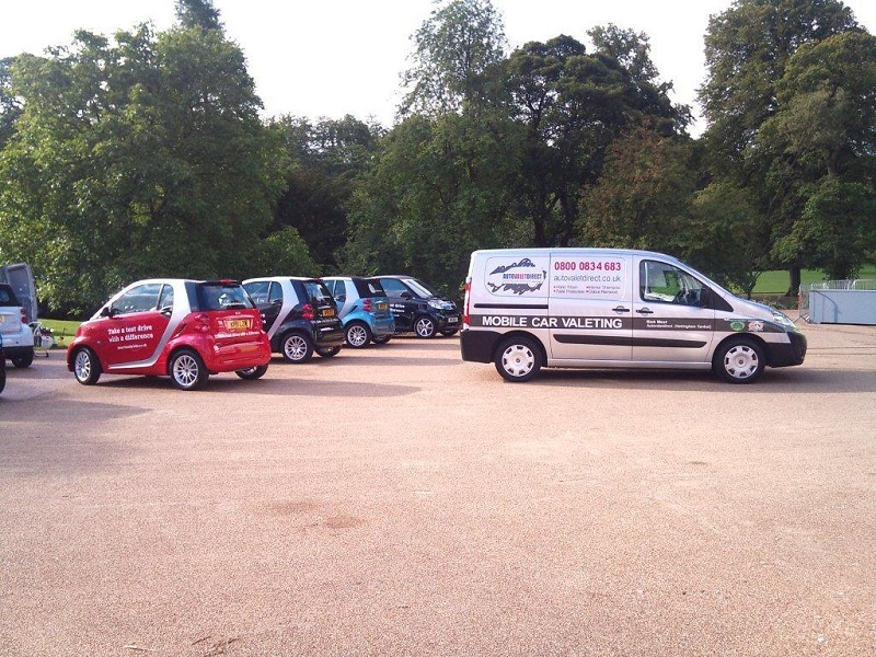 Smart Roadshow with Autovaletdirect franchise