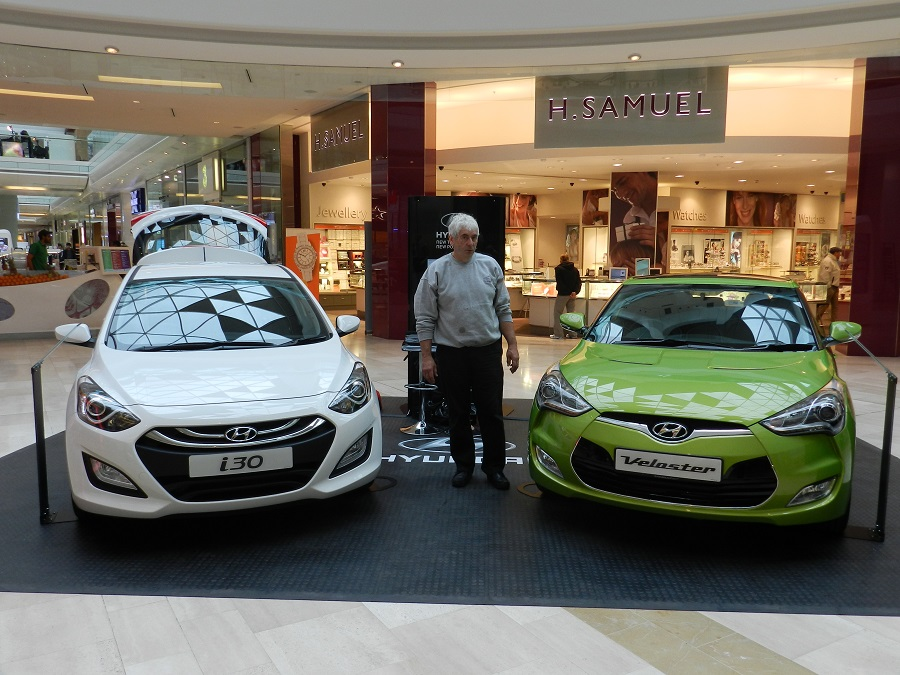 The Hyundai i30 Road Show - Westfield Shopping Centre, White City, London