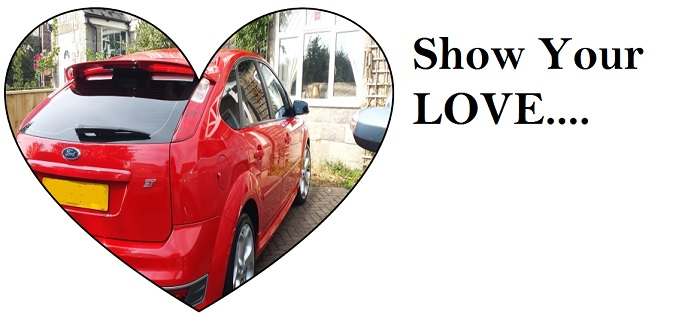 Valentine Day Car Valeting Gift Vouchers